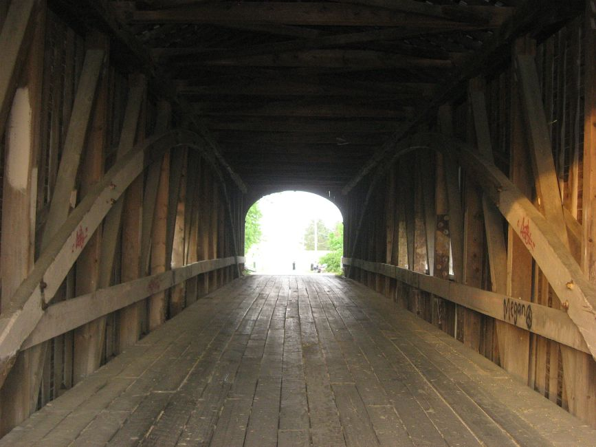 Midwest fall foliage road trips should include a visit to the covered bridges of Parke County Indiana.