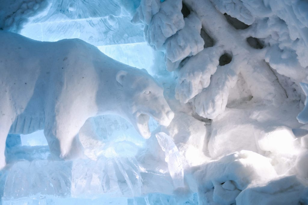 Think you can make it through the night at Hotel de Glace? Find out more about Quebec's Ice Hotel.