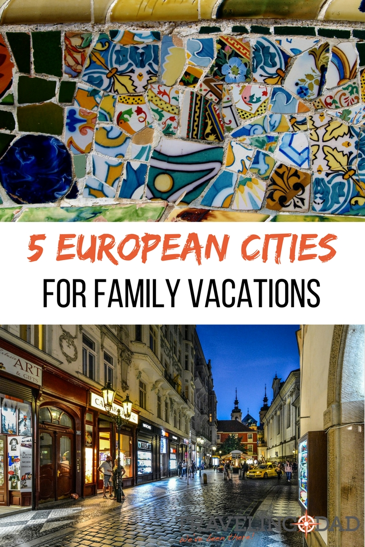 The wonder of Europe is that it's easy to see so much on one vacation. Here are five European cities worth at least a weekend getaway on your next family vacation in Europe.