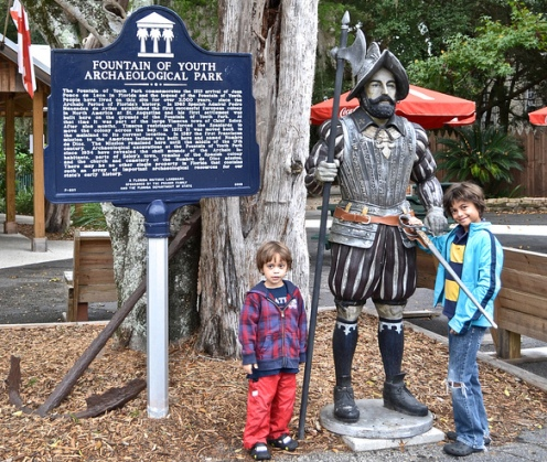 Fountain of Youth, Ponce De Leon and Many More Educational Experiences