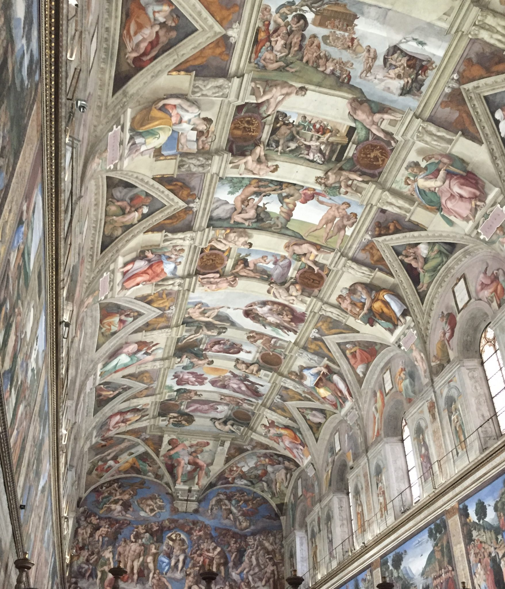 First Ital trip: See the Michelangelo masterpiece ceiling of the Sistine Chapel