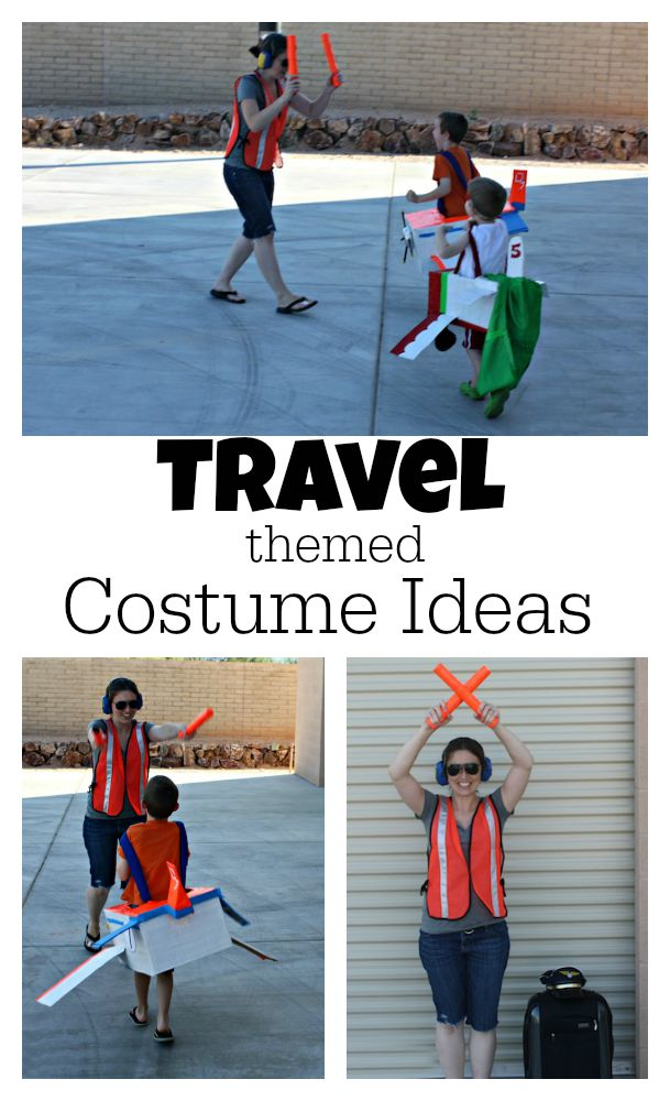 Travel Themed Costume Ideas