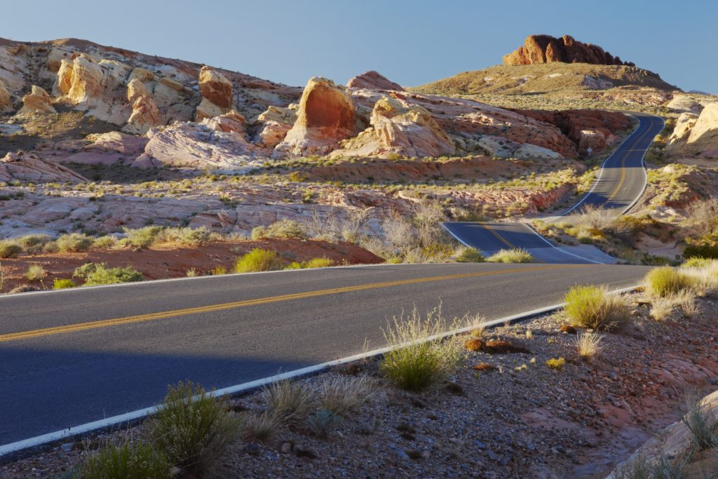 Road trip dangers - No help on the open desert road.