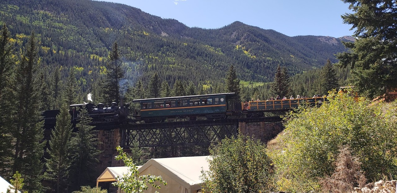 Railroad heritage is a big part of Colorado history, and the Georgetown Loop Railroad was actually one of Colorado's first visitor attractions in 1884.