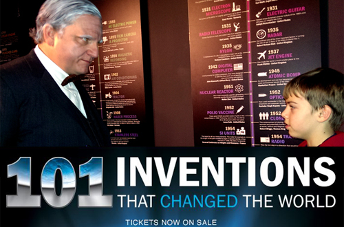 101 Inventions: A New Exhibit at Charlotte's Discovery Place