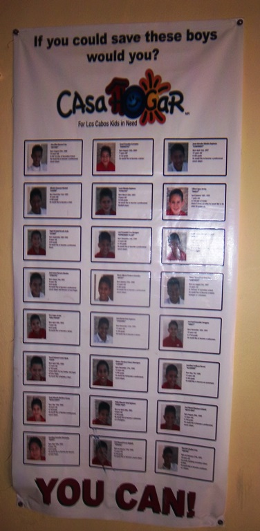 A look at the boys who live at Casa Hogar. Photo courtesy of Solmar Hotels