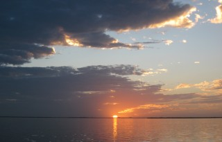 King Fisher Fleet family cruises dawn to dusk, and beyond.  Photo credit: Christine Tibbets / Blended Family TravelingMom
