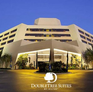 """Spring Getaway Rates"" are being offered by the seven Downtown Disney® Resort Area Hotels, including the DoubleTree Suites by Hilton."