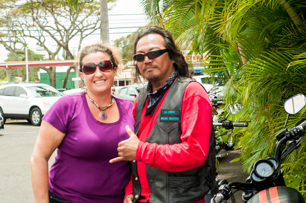 Hang Loose with Harley bikers in hawaii north shore travelingmom carissa rogers