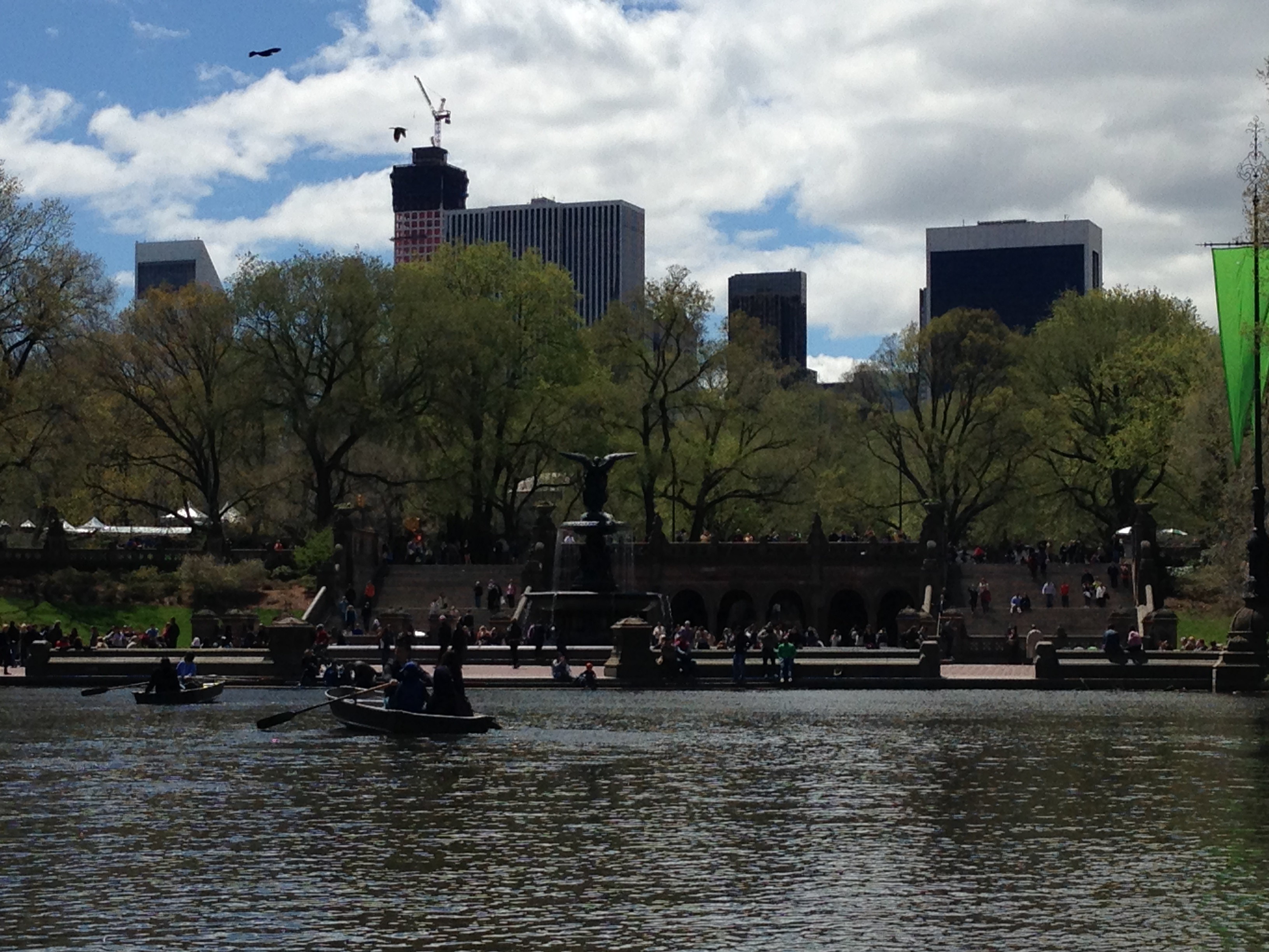 Fun for Families in New York City: Rent Rowboats in Central Park