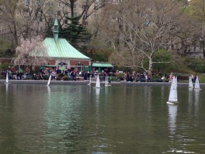 Photo by Jamie Bartosch/Suburban TravelingMom Kids can operate remote-controlled sailboats in Central Park in New York City.