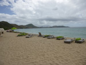 Photo by Jamie Bartosch/Suburban TravelingMom South Friars Beach in St. Kitts is next to the Carramba Beach Club