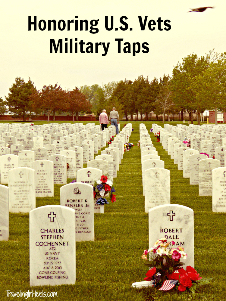 Military Taps at Fort McPherson National Cemetery, near North Platte
