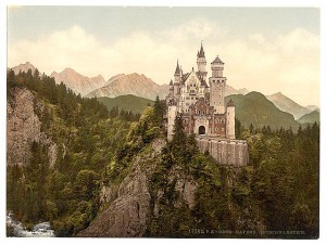Neuschwanstein, Bavaria, Germany, Library of Congress, Prints and Photographs Division Washington, LC-DIG ppmsca-00179