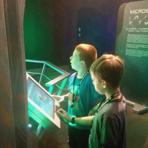 discovery place new aliens androids exhibit