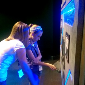 discovery place new aliens androids exhibit girls