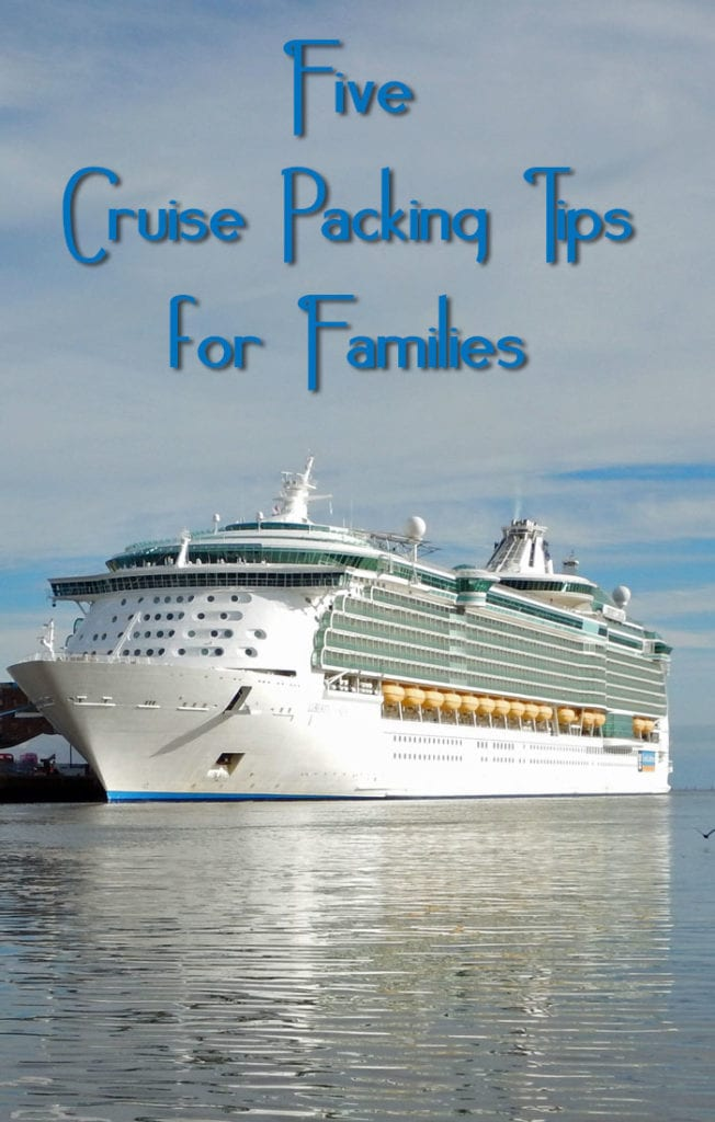 Cruise Packing Tips pin