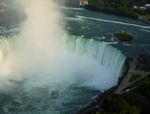 View of Niagara Falls from the Skylon Tower Photo credit: Anuja De Silva/Cosmopolitan TravelingMom