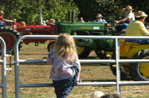 Watch tractors square-dancing at the National Apple Festival in Gettysburg