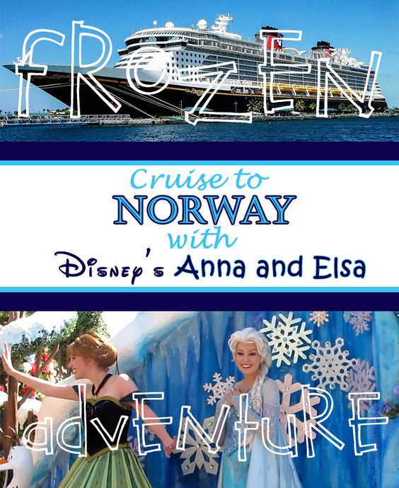Cruise to Norway with Disney's Anna and Elsa