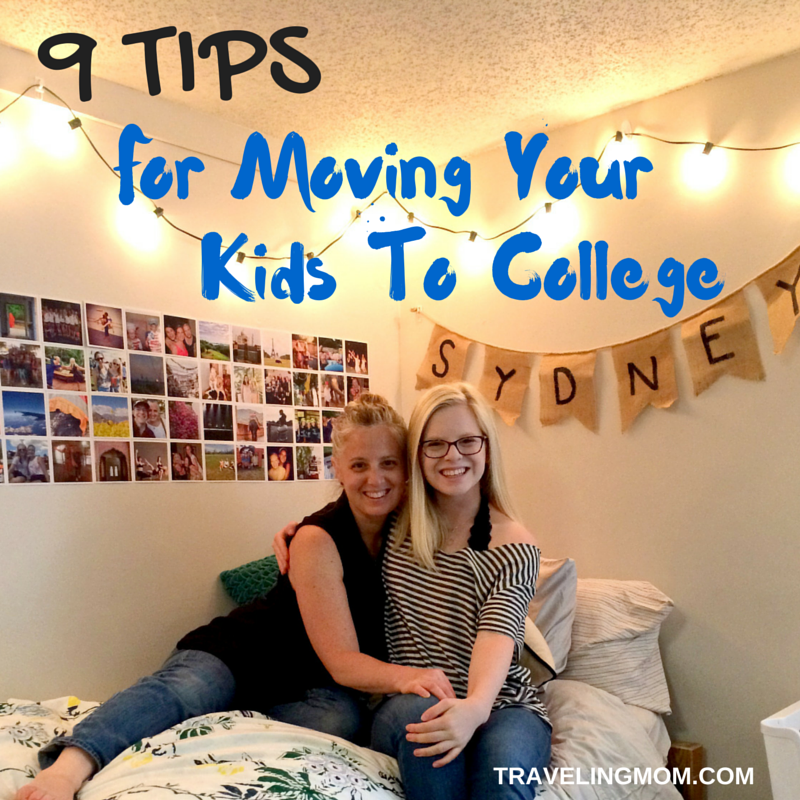 Tips For Moving Kids to College
