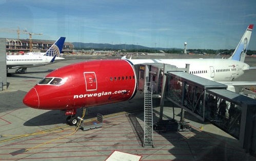 Norwegian Air Dreamliner, Premium Class