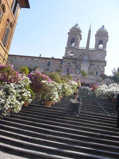 Spanish Steps Photo Credit: Wiki Commons