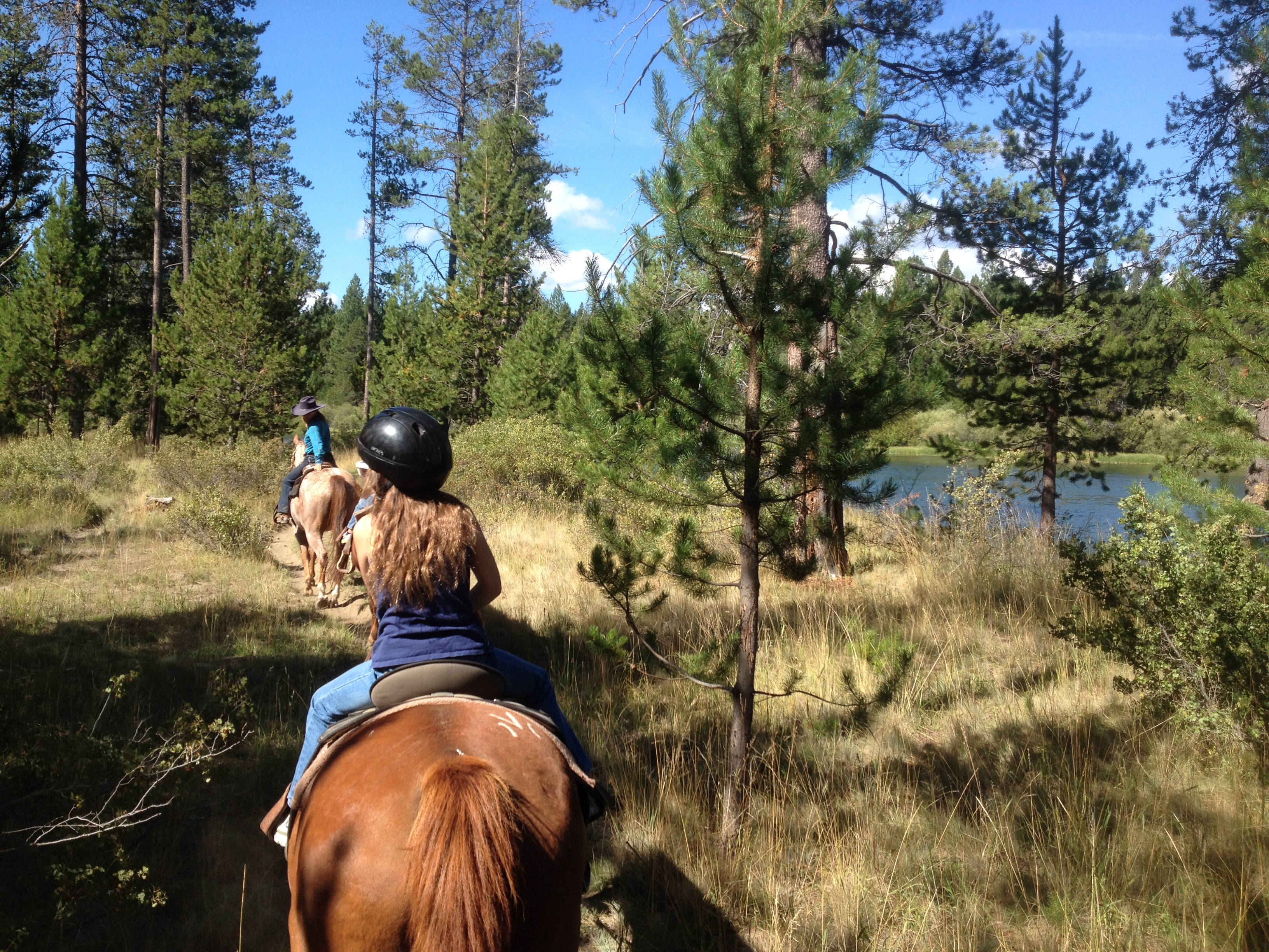 Horseback riding in Sunriver