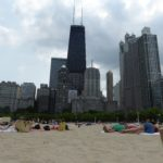 Photo by Jamie Bartosch/Suburban TravelingMom Admission is free to Oak Street Beach, just a few blocks from the Magnificent Mile, and it has a beautiful skyline backdrop.