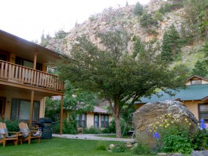 Misty Mountain Lodge gives access to lively Estes Park. Photo by Blended Family TMOM Christine Tibbetts