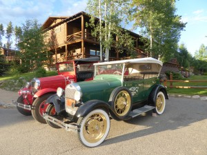 Grand Lake Lodge launched gracious accommodations in 1920. Photo by Blended Family TMOM Christine Tibbetts