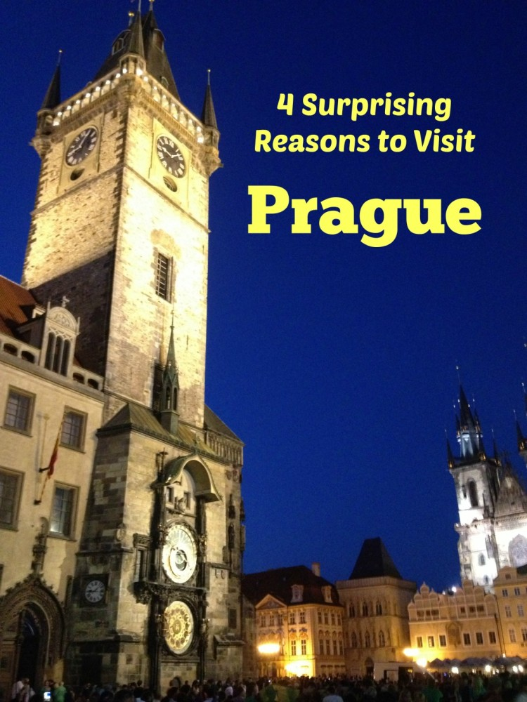 Prague is a good family destination