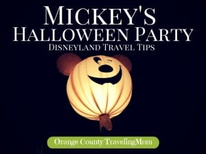 Travel Tips for Mickey's Halloween Party