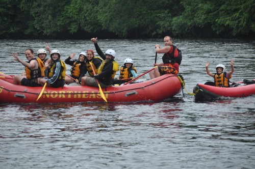 Family Friendly Rafting in Maine with Northeast Whitewater