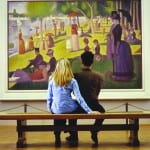 "Photo courtesy of ChooseChicago.com Masterpieces like George Seurat's ""A Sunday on La Grande Jatte"" can be seen on a special kid-friendly audio tour at the Art Institute of Chicago."