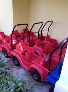 Beaches Resorts Wagons for Rent for Toddlers