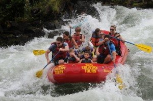 Whitewater Rafting with Kids