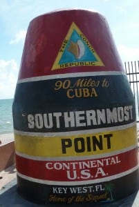 Key West Florida with Kids - Southernmost Point