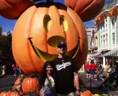 HalloweenTime at Disneyland with a Mom, Her Son & His Date