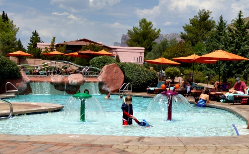 Hilton Sedona Resort Pool Area