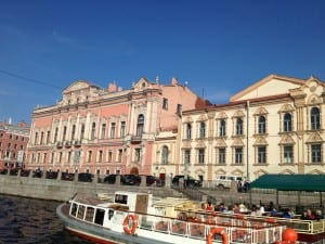 Walking and boat tour of St. Petersburg