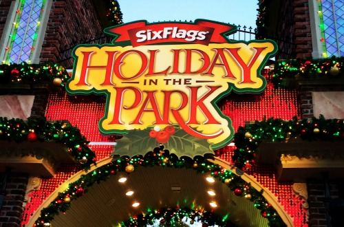 Holiday in the Park at Six Flags Over Georgia