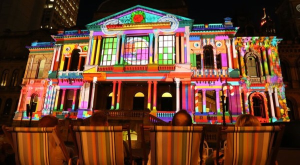 Sydney holiday lights. Photo courtesy of Sydney