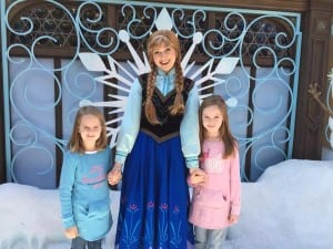 Heather Barnard showed us that Frozen is a global phenomenon with this great shot from Disneyland Hong Kong.