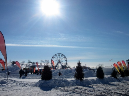 Meet the Lovable Snowman Bonhomme at Carnaval de Quebec