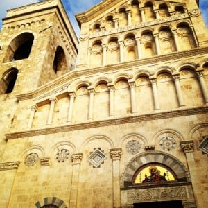 The Cathedral in Cagliari, Sardinia in afternoon sun (Photo: Philadelphia TMOM Sarah Ricks)