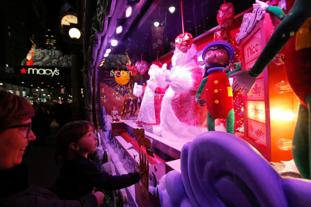 Macy's windows are must-see every year, and a distinctive part of a New York Christmas.