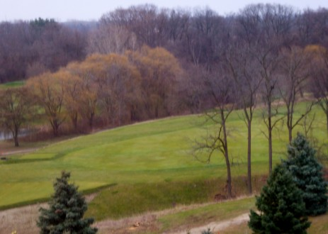 Nature trails, 18 holes of golf, big views at this Marriott. Photo by Christine Tibbetts, Blended Family Traveling Mom.