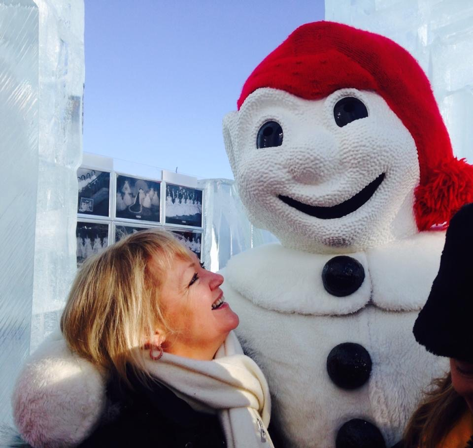 Meet Bonhomme, the lovable snowman who is the star of Quebec's winter carnival.
