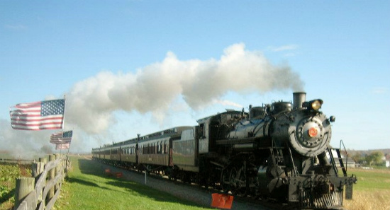 Where to see trains in Pennsylvani